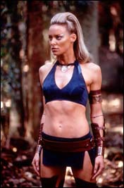 Dylan Bierk as the Beastmaster's second Sorceress